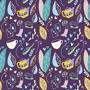 Wonderland (Dark Purple) by cheeryhuman
