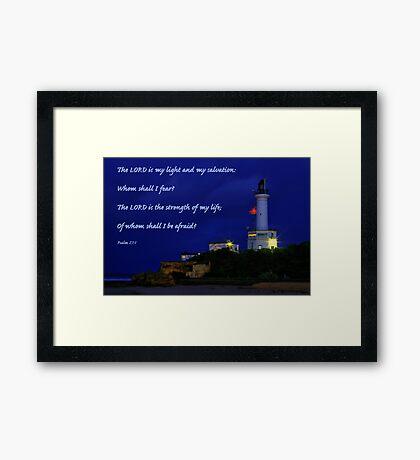 """""""Beacon of Hope"""" 2 Framed Print"""