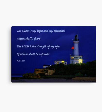 """Beacon of Hope"" 2 Canvas Print"