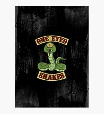 One Eyed Snakes Photographic Print