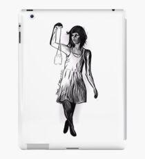 Girl with Candle Jar Lantern iPad Case/Skin
