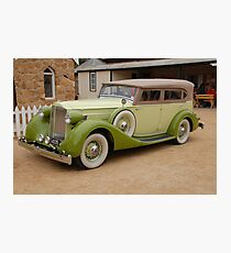Packard Photographic Print