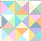 Pastel Squares by Aakheperure