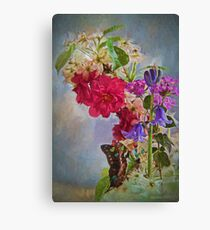 Colorful Butterfly Splendor Canvas Print