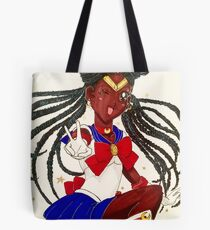 Black Sailor Moon Tote Bag