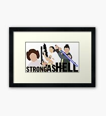 Strong as Hell (Galactic Gals Version) Framed Print