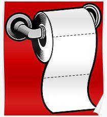 Rouleau de papier Toilette Poster