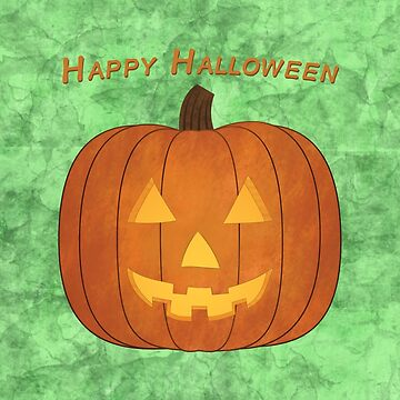 Happy Halloween Jack-O-Lantern by keltickat