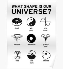 What Shape is Our Universe? Poster