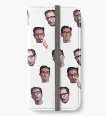 Vinilo o funda para iPhone Compilación de la cara de Jeff Kaplan