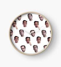 Jeff Kaplan Face Compilation Clock