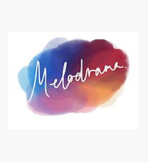 Melodrama Art Photographic Print