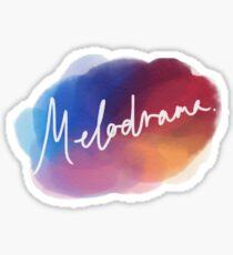 Melodrama Art Sticker