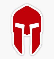 Spartan Helmet Crimson - Corinthian Type   Sticker