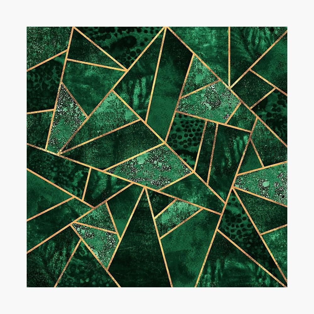 Deep Emerald Photographic Print