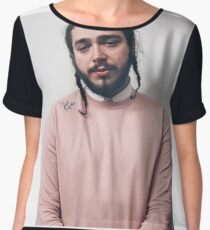 Post Malone Women's Chiffon Top