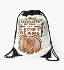 My Favorite Beans Are Toe Beans (Dog) Drawstring Bag