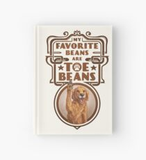 My Favorite Beans Are Toe Beans (Dog) Hardcover Journal