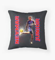 Neymar Junior PSG Throw Pillow
