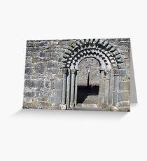 Dysart O Dea church arch Greeting Card