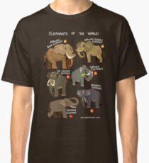 Elefanten der Welt Classic T-Shirt