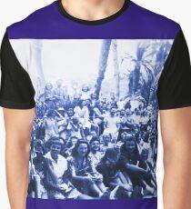 Vintage Santa Catalina Island Group Shot Graphic T-Shirt