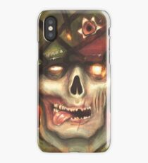 Deadly Inferno iPhone X Case