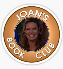 Joan Callamezzo's book club. Sticker