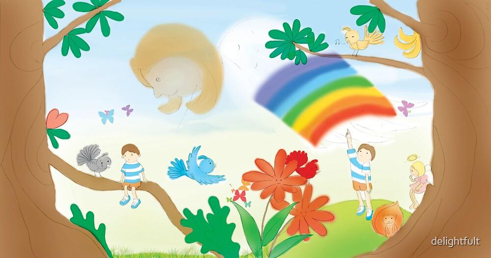 illustration for children's book by delightfult