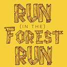 Run in the Forest Run by yelly123