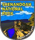 SHENANDOAH NATIONAL PARK VIRGINIA STONY MAN CLIFFS CLIMBING HIKING by MyHandmadeSigns