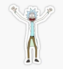 Rick is my favorite character  Sticker