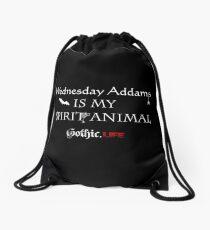 Wednesday Addams Drawstring Bag