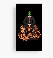 Corporate Overlord Canvas Print