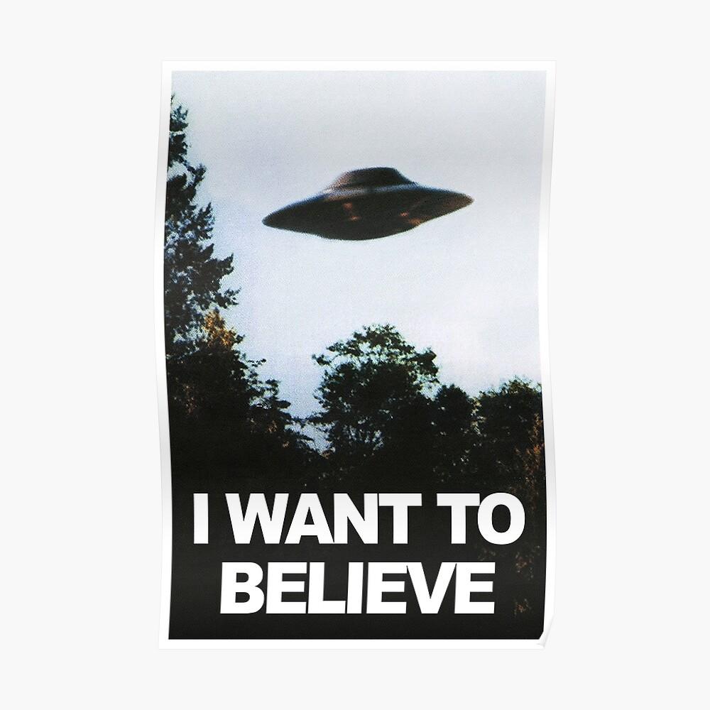 Ich möchte glauben Poster