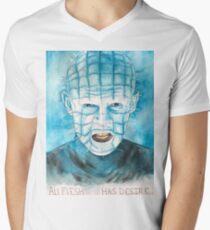 all flesh has desire Men's V-Neck T-Shirt