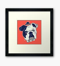 Gentleman Pet Framed Print