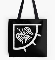 The raven banner Tote Bag