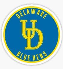 University of Delaware - Blue Hens Sticker