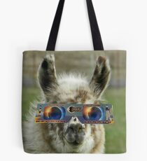 Lily Llama Eclipse Experience Tote Bag
