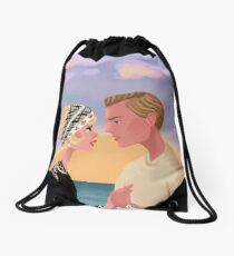 Young and Beautiful Drawstring Bag
