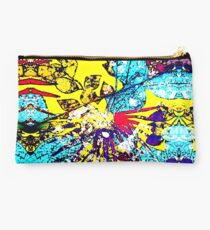Abstract Multicolor Background Studio Pouch