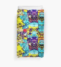 Abstract Multicolor Background Duvet Cover