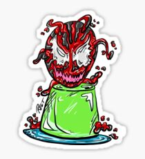 Carnivorous Jell-O Sticker