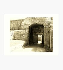 fortification Art Print