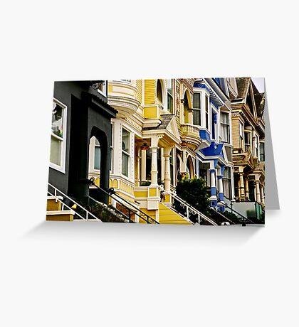 San Francisco Neighborhood Greeting Card