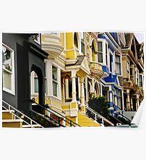 San Francisco Neighborhood Poster