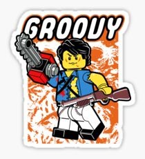Everything is Groovy Sticker