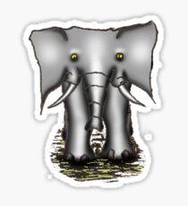 Elefante Gris Sticker