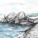 Rocks by Yana Art